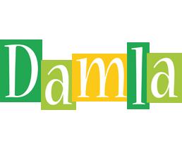 Damla lemonade logo