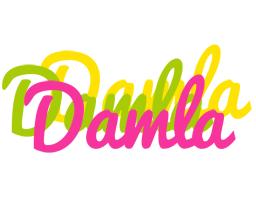 Damla sweets logo