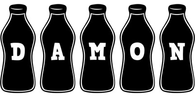 Damon bottle logo