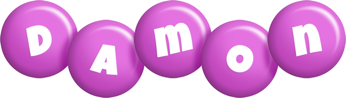 Damon candy-purple logo