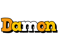 Damon cartoon logo
