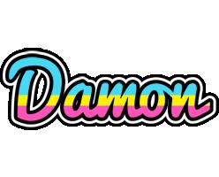Damon circus logo