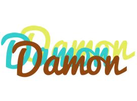 Damon cupcake logo