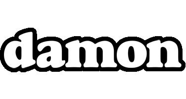 Damon panda logo
