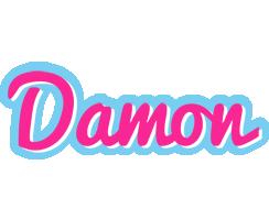 Damon popstar logo