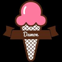 Damon premium logo