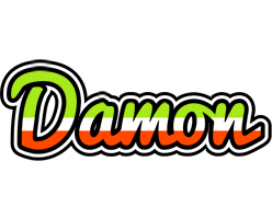 Damon superfun logo