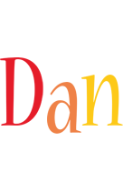 Dan birthday logo