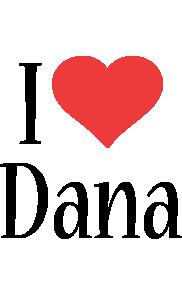 Dana i-love logo