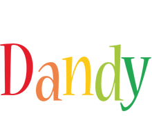 Dandy birthday logo