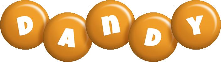 Dandy candy-orange logo