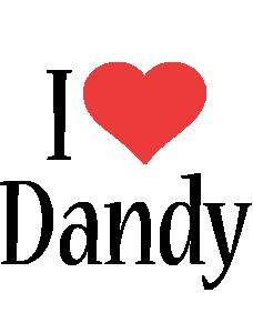 Dandy i-love logo