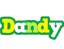 Dandy soccer logo