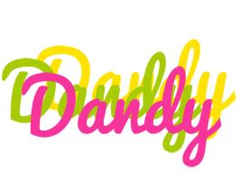 Dandy sweets logo