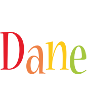 Dane birthday logo