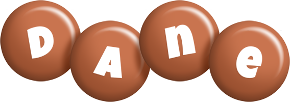 Dane candy-brown logo