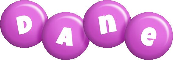 Dane candy-purple logo