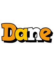 Dane cartoon logo