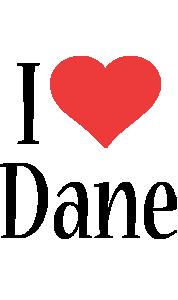 Dane i-love logo