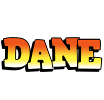 Dane sunset logo