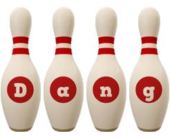Dang bowling-pin logo