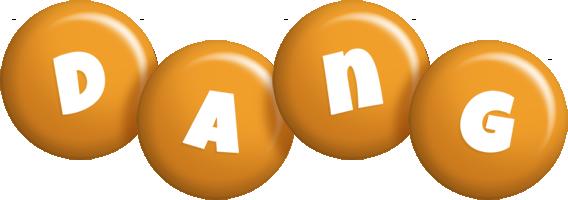 Dang candy-orange logo