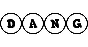 Dang handy logo