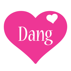 Dang love-heart logo