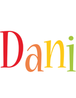 Dani birthday logo