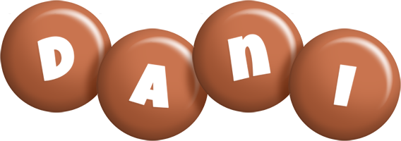 Dani candy-brown logo