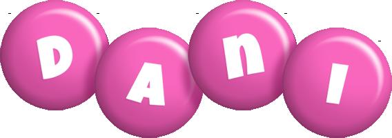 Dani candy-pink logo