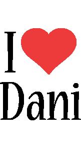 Dani i-love logo
