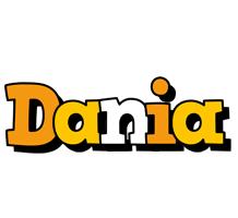Dania cartoon logo