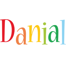 Danial birthday logo