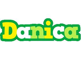 Danica soccer logo