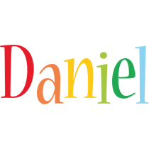 Daniel birthday logo