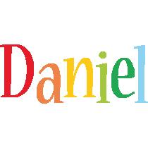 Daniel Logo | Name Logo Generator - Smoothie, Summer, Birthday, Kiddo, Colors Style
