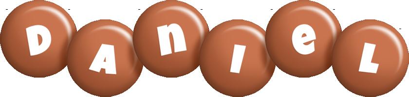 Daniel candy-brown logo