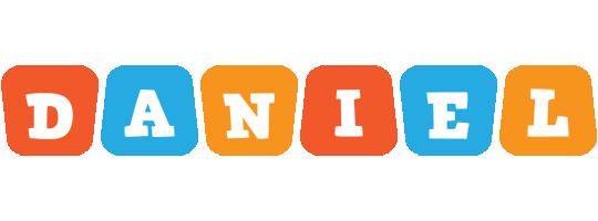 Daniel comics logo