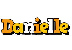 Danielle cartoon logo