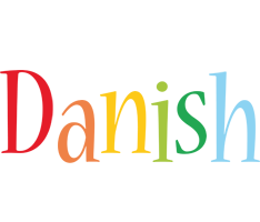 Danish birthday logo