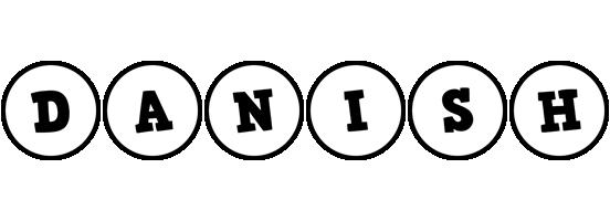 Danish handy logo