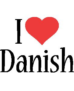 Danish i-love logo
