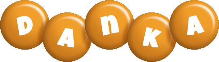 Danka candy-orange logo