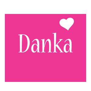 Danka love-heart logo