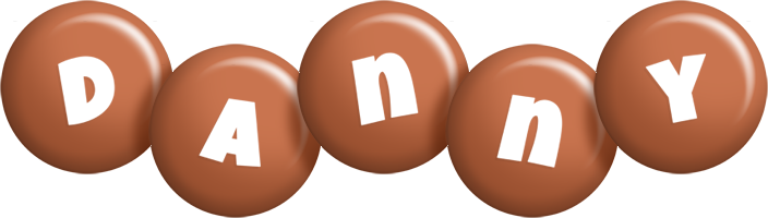 Danny candy-brown logo