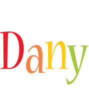 Dany birthday logo