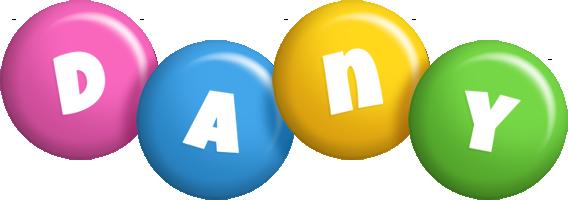 Dany candy logo