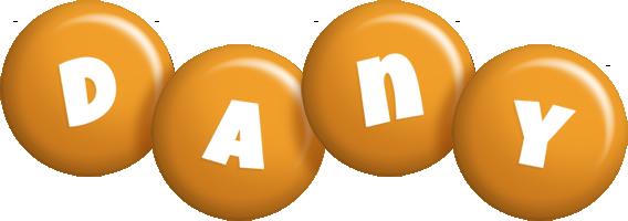 Dany candy-orange logo