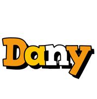 Dany cartoon logo